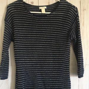 Chico's Women's Cardigan Sweater Size 0 Blue